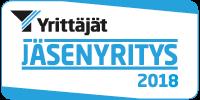 Yrittäjät Jäsenyritys 2018